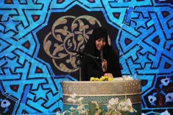 رقابت فینالیست های رشته های حفظ خواهران در مسابقات سراسری قرآن
